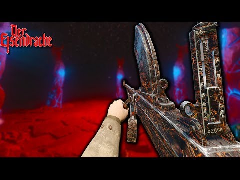 'Der Eisendrache' USING WWII WEAPONS IN THE BOSS FIGHT! SOLO EASTER EGG! (Call of Duty Black Ops 3)
