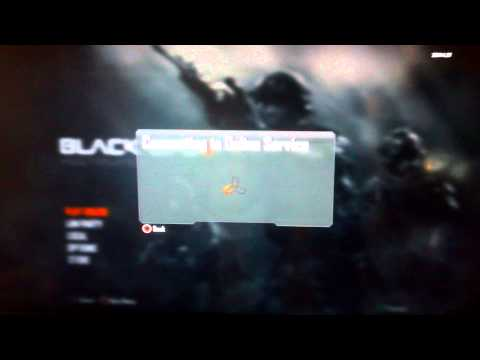 Black Ops 2  connect to online service error fix