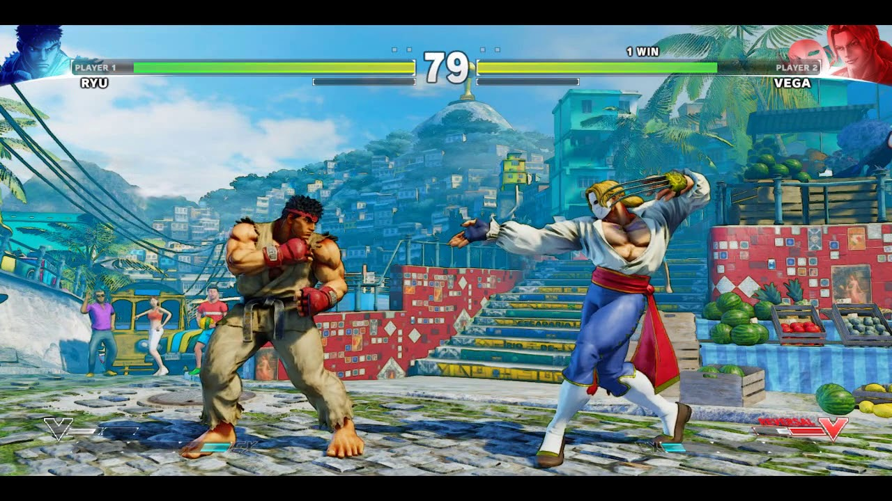 How To Connect PC Controller in Street Fighter 5 PC Gameplay 2 VS 2 Players  Fight
