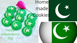 Cream Cheese Cookies Independence Day Special Recipe -Kitchen with Fatima