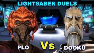 Lightsaber Duels - Plo Koon vs Count Dooku