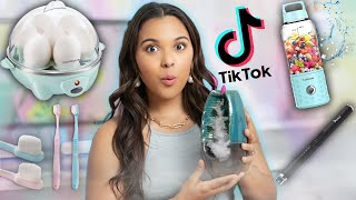 Testing Weird TikTok Products! *viral products, gadgets, tech, food