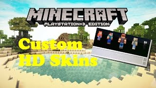 Minecraft ps3 how to make custom skins