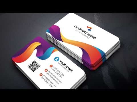 How To Make A Colorful Business Card In Adobe Illustrator
