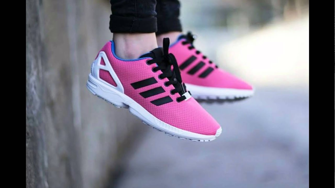 bbe4f77a006eb Adidas Zx Flux B34502 Sneakers Men Shoes Original Torsion red pink ...