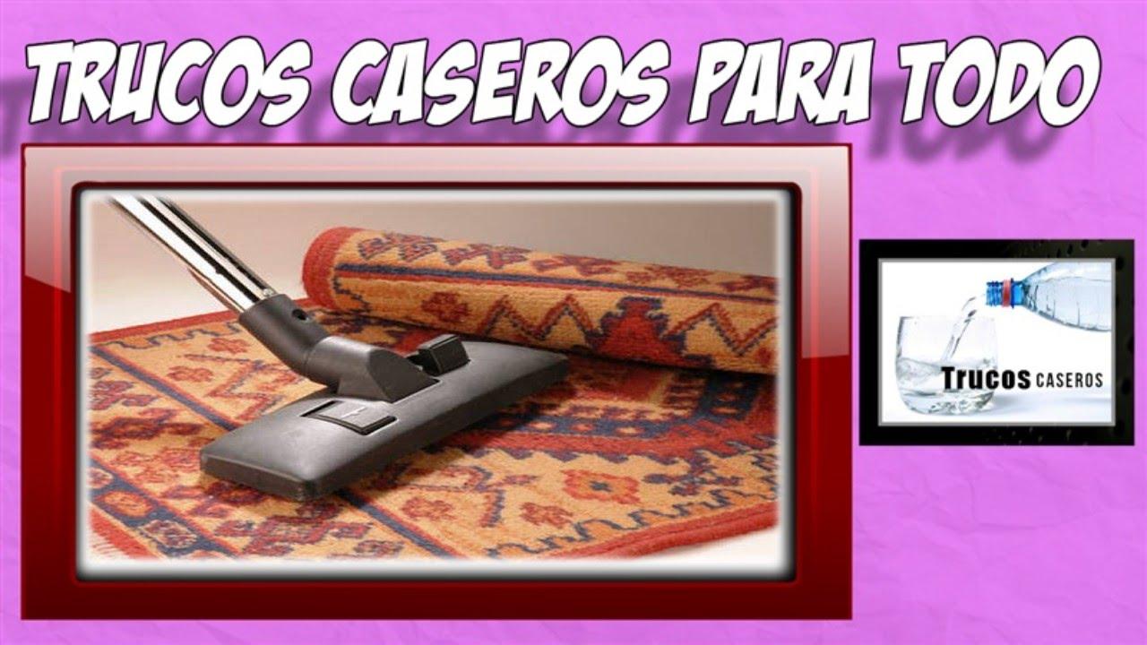 Trucos caseros para limpiar alfombras en casa productos - Como limpiar alfombras en casa ...