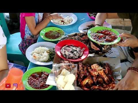 mukbang-seafood-bakar-di-jimbaran-spesial-udang-bakar-&-cumi-rebus!