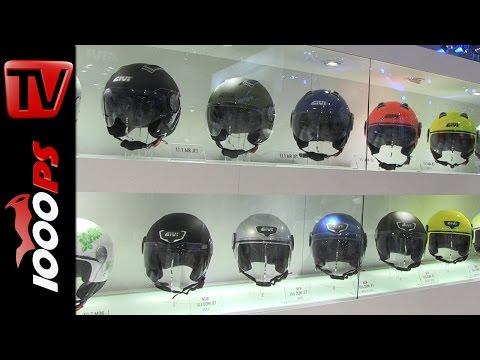 GIVI Produktneuheiten 2016 | Helmmodelle, Koffersysteme