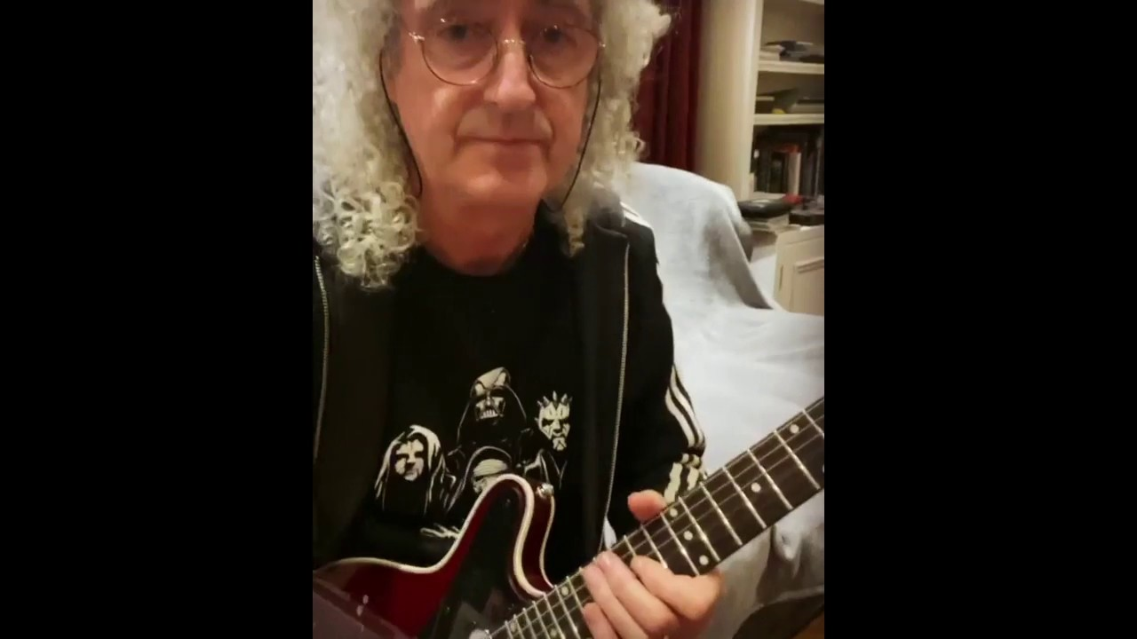 Download Brian May: Killer Queen solo anyone? - 27 March 2020