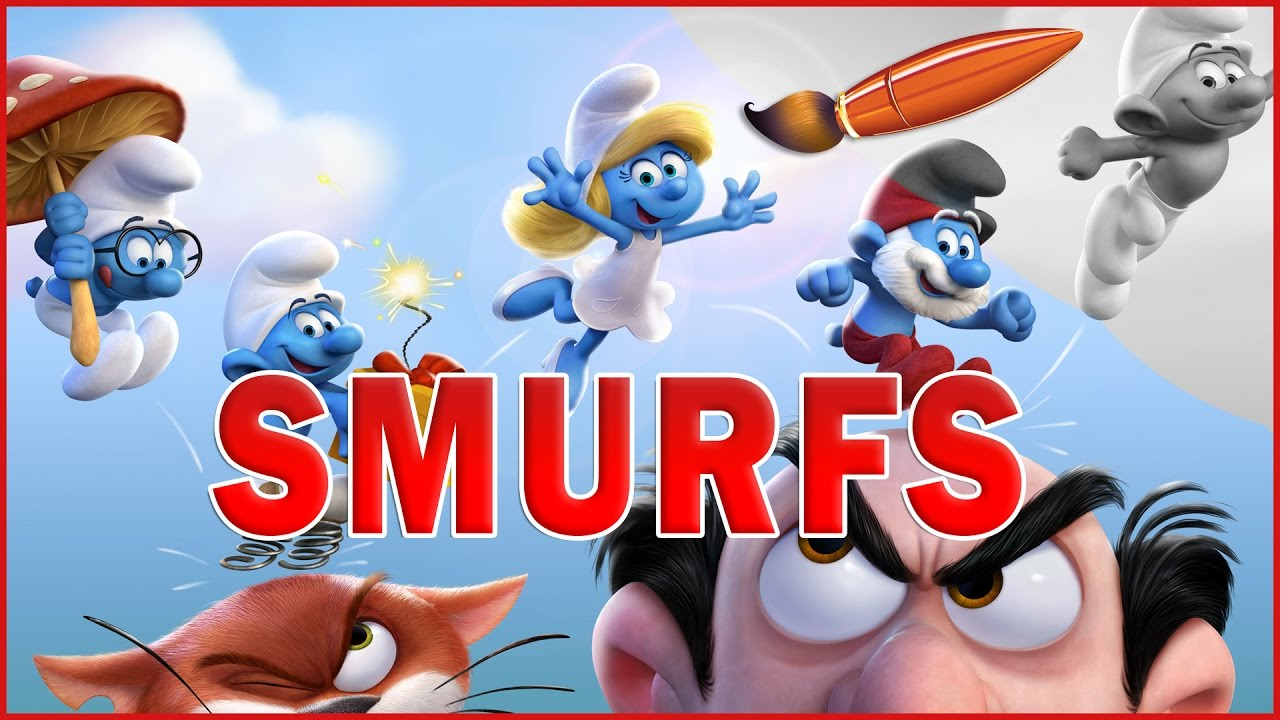 smurfs lost village kids coloring book coloring pages for