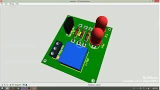 PCB Design Tutorial - IR sensor Module