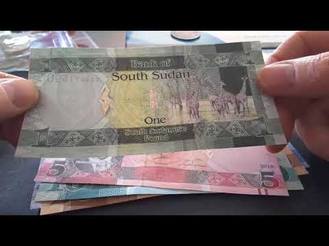 Worthless South Sudan Pounds
