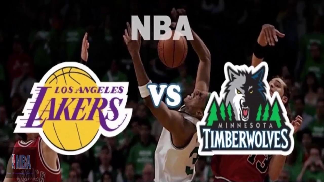 """Résultat de recherche d'images pour """"Minnesota Timberwolves vs Los Angeles Lakers"""""""
