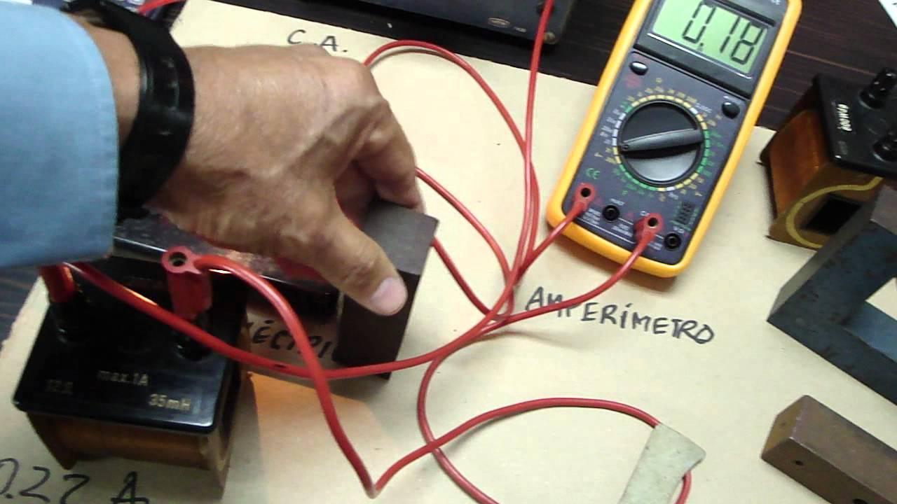 como medir la corriente alterna