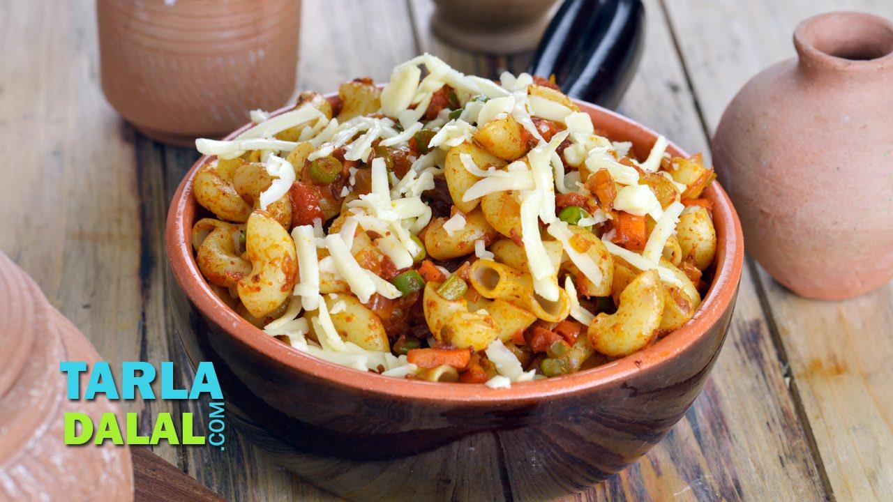 Indian style macaroni veg by tarla dalal youtube forumfinder Choice Image