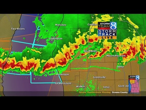 Severe Storm Thunderstorm warnings, watches in W. Mich.