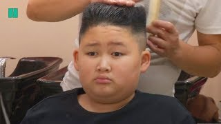 Barber Gives Free Kim Jong Un And Trump Haircuts