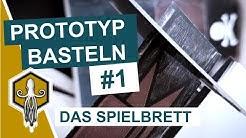 Prototyp Basteln #1: Das Spielbrett