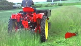 RS 09/124 (4 válec, 1966) - sečení trávy 2011