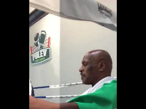 Mike Tyson Visits Kubrat & Tervel Pulev Boxing Academy In Sofia- Sports Center PULEV