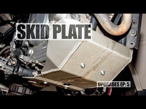 XT250 Upgrades Episode 5: SKID PLATE