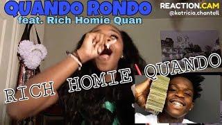 """Quando Rondo Feat. Rich Homie Quan """"Rich Homie Quando"""" (WSHH Exclusive - Official Video)    Reaction"""