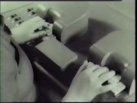 VODER (1939) - Early Speech Synthesizer