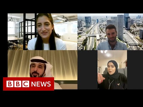 Young Israelis And Emiratis Meet Online After Peace Deal - BBC News