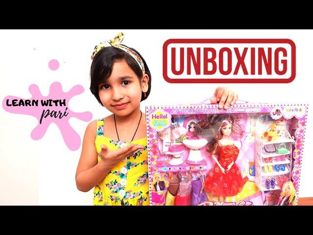 Modern Pretty Girl Unboxing / Fav n Funky / #Amazon   #LearnWithPari