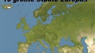 10 größte Städte Europas