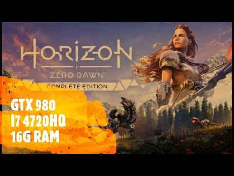 horizon zero dawn complete edition  ON GTX980  