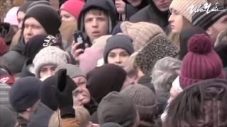 Митинг в Кемерово после трагедии в ТЦ
