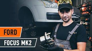 Πώς αντικαθιστούμε εμπρόσθιοι ρουλεμάν τροχού σε FORD FOCUS MK2 Sedan [ΟΔΗΓΊΕΣ AUTODOC]