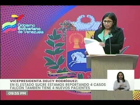 Reporte Coronavirus Venezuela, 25/06/2020: 198 nuevos casos y un fallecido, informó Delcy Rodríguez