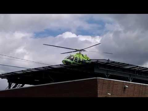St. Vincent Health Center Indianapolis Rescue Helicopter
