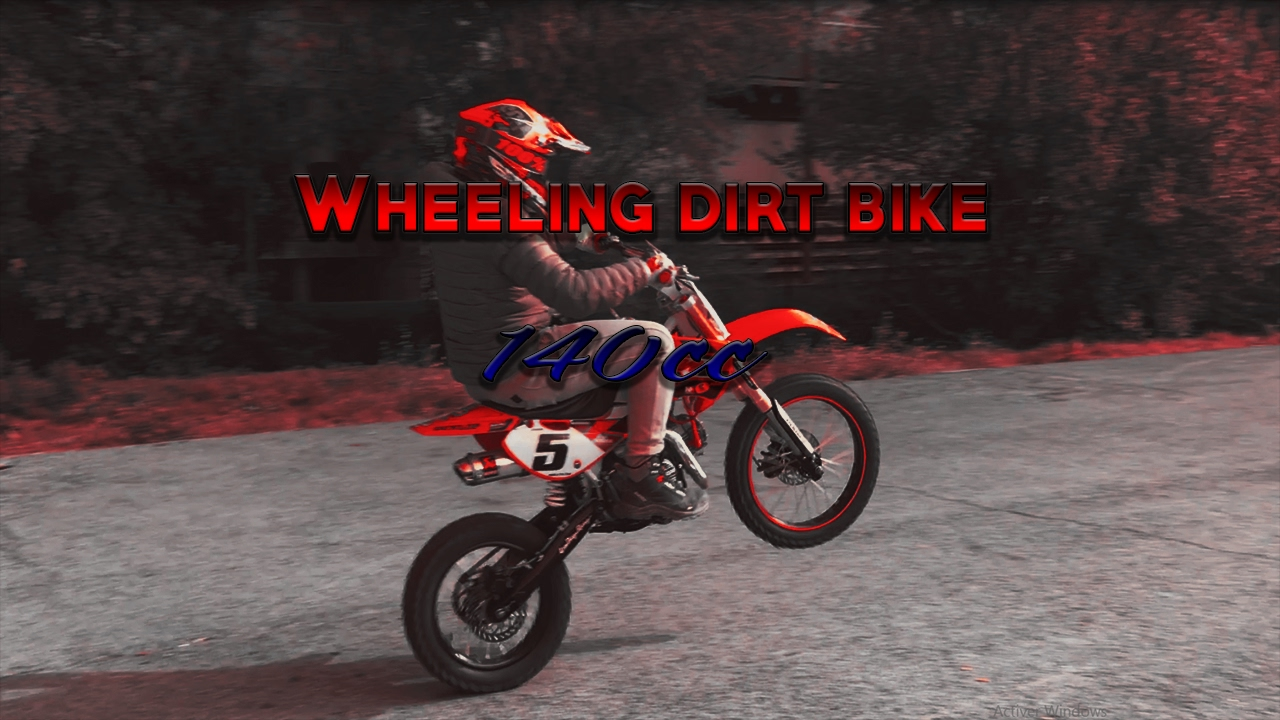 wheeling dirt bike 140 youtube. Black Bedroom Furniture Sets. Home Design Ideas