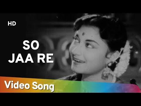 So Jaa Re Chanda | Aasha (1957) | Kishore Kumar | Minoo Mumtaz | Asha Bhosle Song