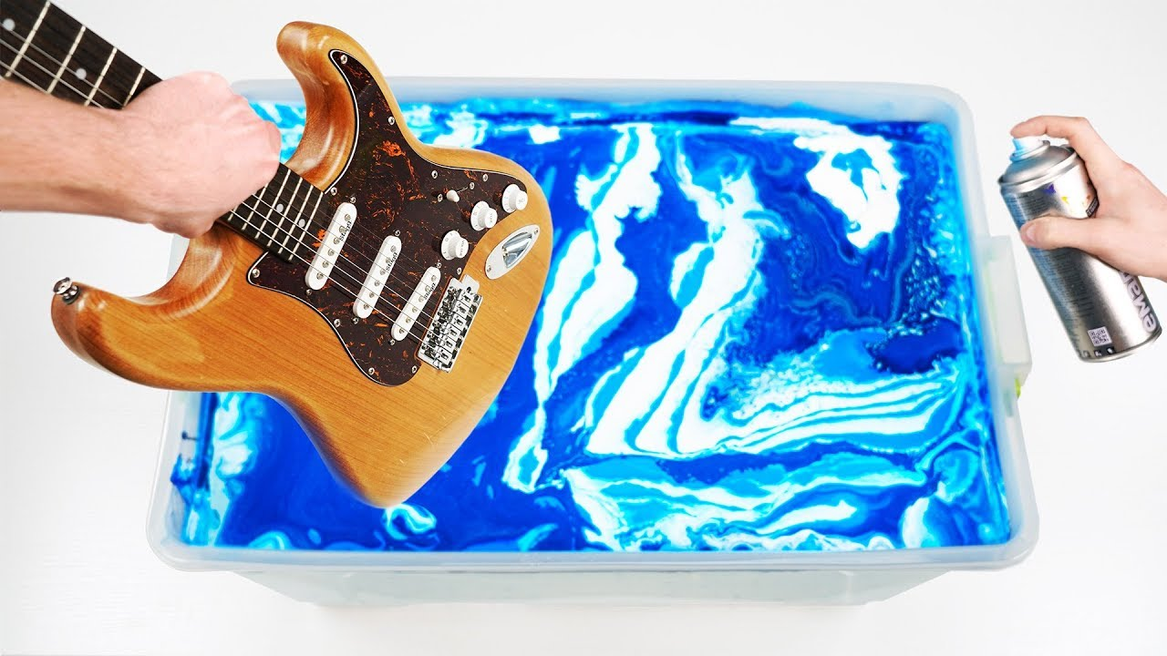 Customize your Guitar with Hydro Dipping
