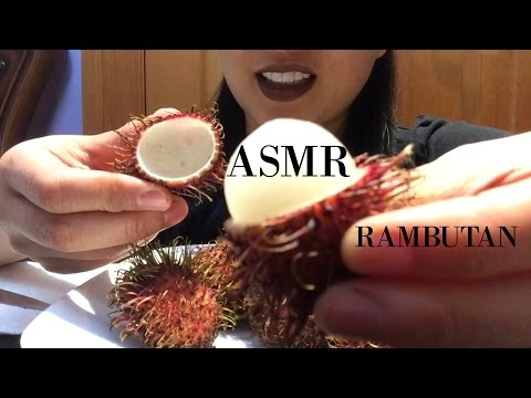 ASMR EXOTIC FRUIT RAMBUTAN | MUKBANG 먹방  | *Eating Sound* | SAS-ASMR