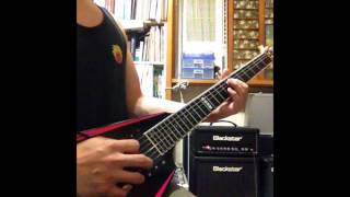 H-I-K-A-R-I- Kelly simonz...cover by 嬋心 guitar synthesizer version