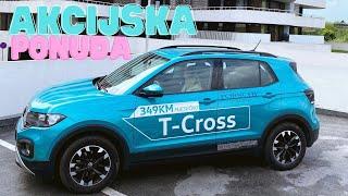 T-Cross: akcijska ponuda 1.0TSI DSG 110KS