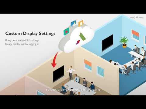 BenQ Corporate IFP Product Video