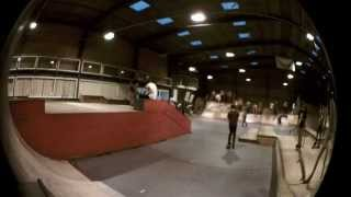 Lewis Farley: Rock Roll Vert Wall - GO SKATE DAY 2012 @ Ramp City