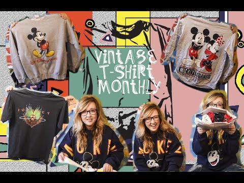 Where I Buy All Of My Vintage T-Shirts Online: Opening Vintage T-Shirts Video