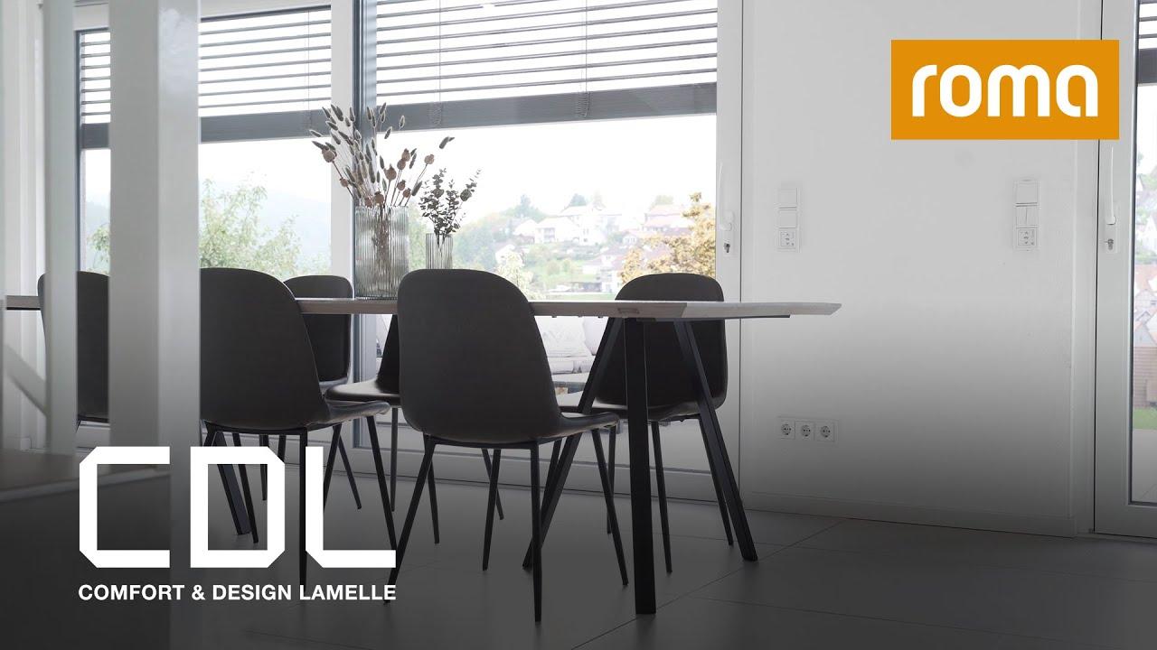 Comfort & Design Lamelle ROMA CDL für Raffstoren am Wohnzimmer