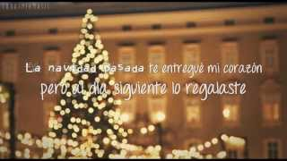 Repeat youtube video Taylor Swift - Last Christmas [Traducida al Español]