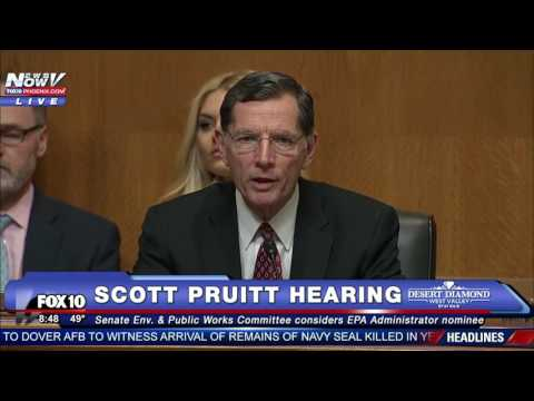 WOW: Rules Suspended for Scott Pruitt Vote After Democrats Don't Show Up in PROTEST of Hearing - FNN