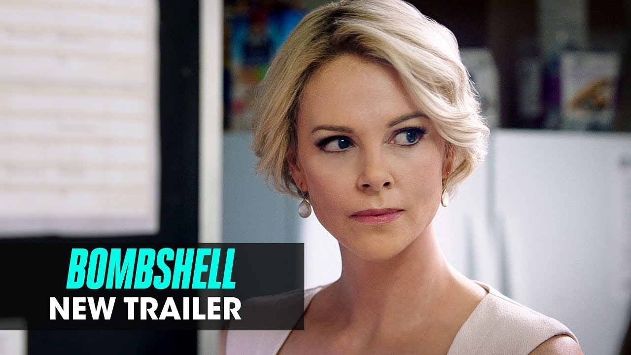 Bombshell 2019 Movie New Trailer Charlize Theron
