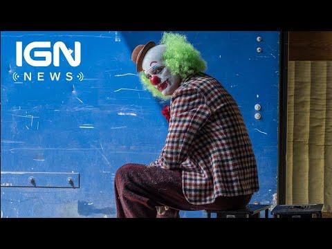 Joker Director Reveals New Photo of Joaquin Phoenix in Clown Costume and Makeup  IGN