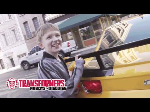 Elijah Britain Has Won the Ride of a Lifetime with Bumblebee & Optimus Prime